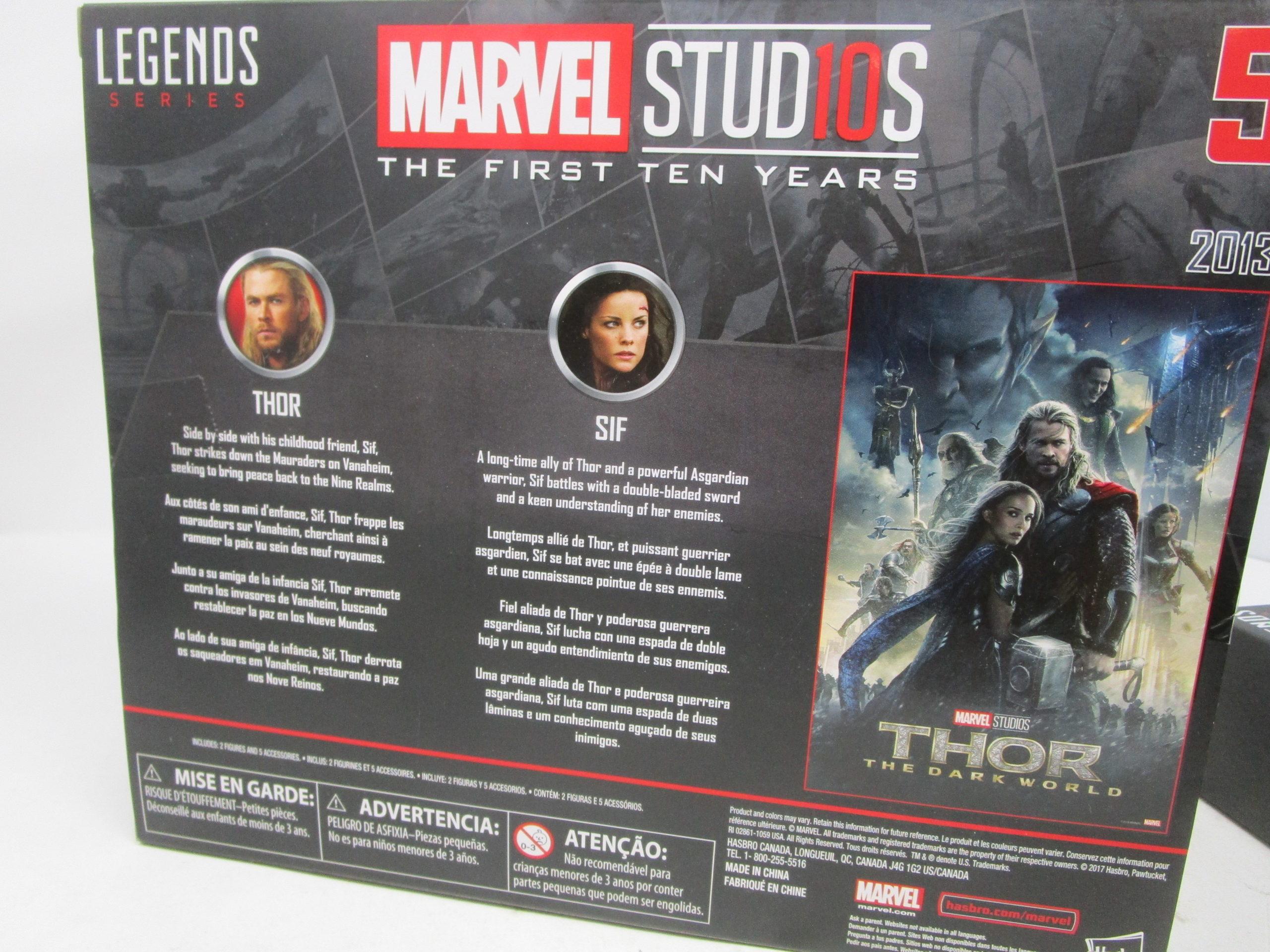 foto de Hasbro Marvel Legends Thor Dark World 2 pack : Toys From